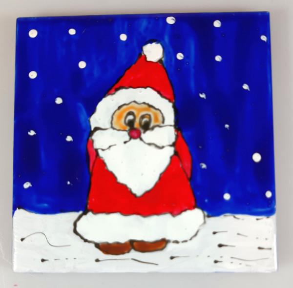 Untersetzer Weihnachtsmann