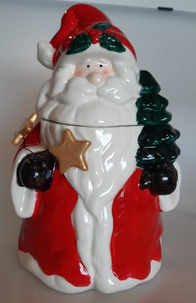 Vorratsbehälter Weihnachtsmann