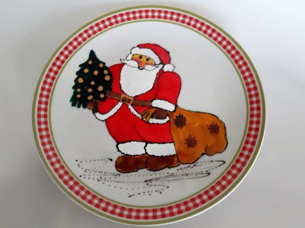 Teller Weihnachtsmann