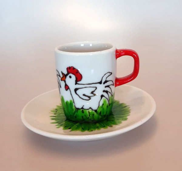 Espresso Serie Hühner